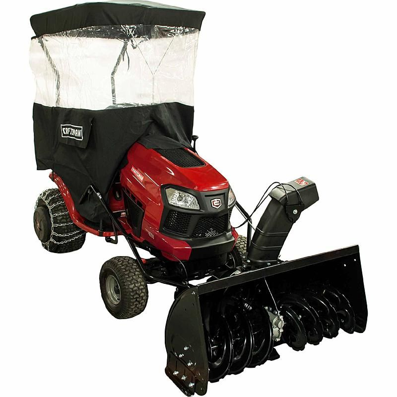 Craftsman 24837 12 Dual Stage Snowblower Attachment Snow Blower Tractors Tractor Attachments