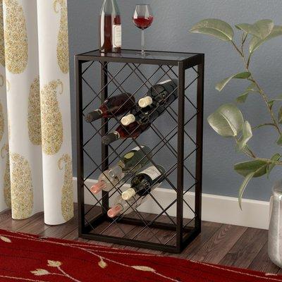 Red Barrel Studio Medlin 23 Bottle Floor Wine Bottle Rack Wine