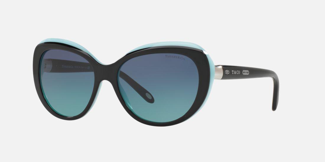051a55cdb9bd Tiffany   Co. TF4122 56 Blue   Black Sunglasses