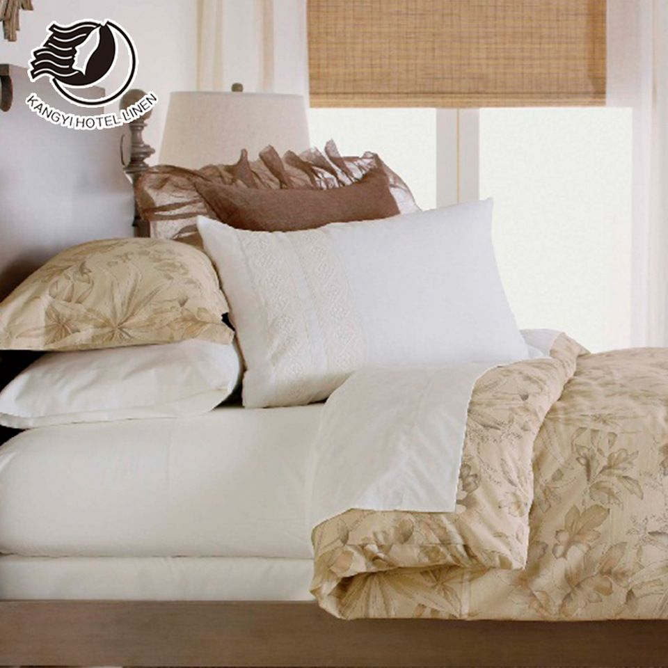 Yakangyi Wholesale Egyptian Cotton Bed Linen Luxury Bedding Sheets Set