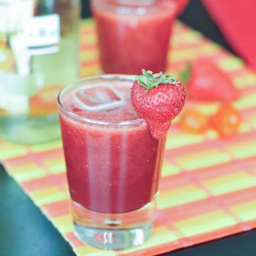 Strawberry Habanero Margaritas
