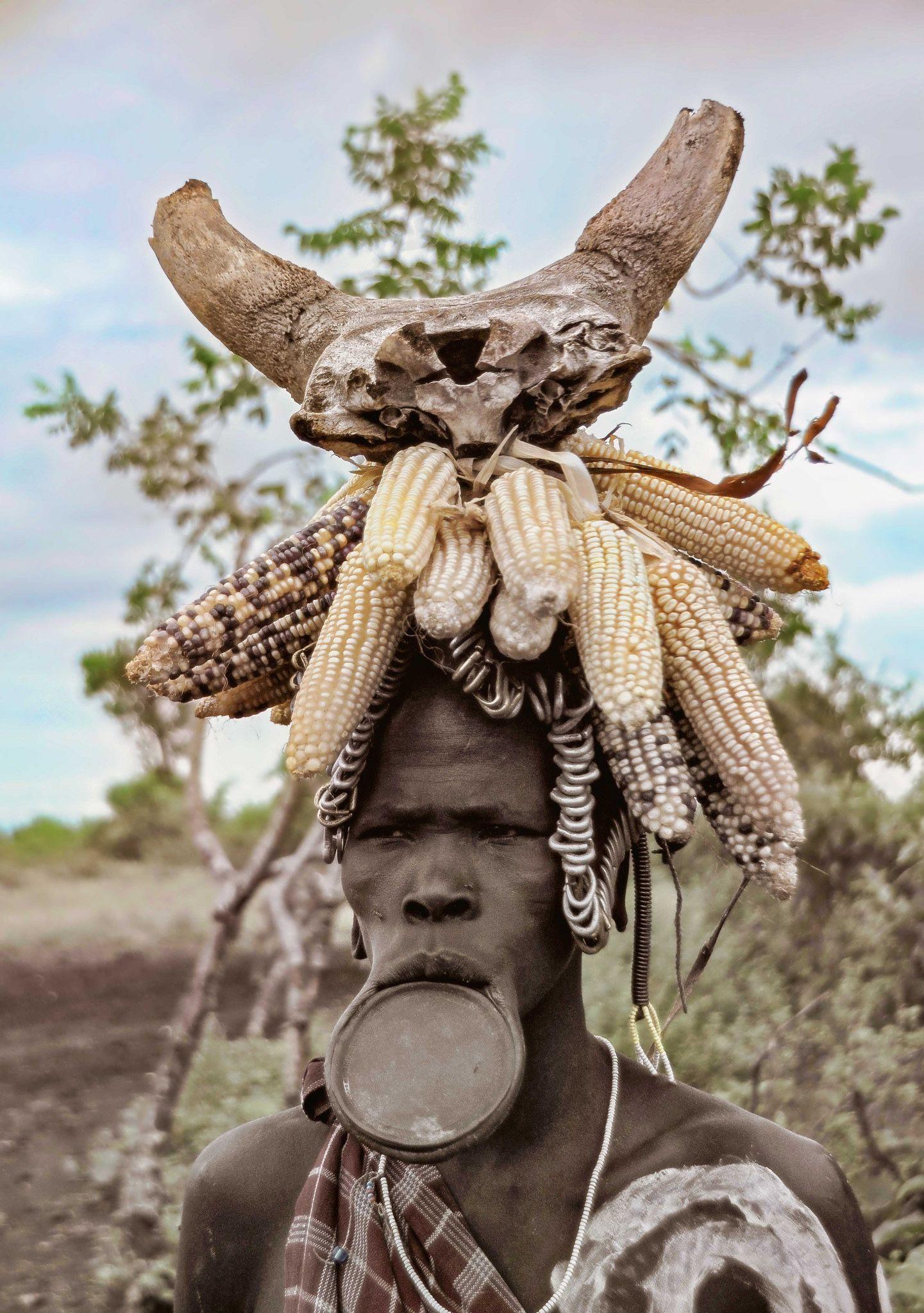 Mursi Tribe, Ethiopia - The homies ✨ #Ethiopia #homies #Mursi #Tribe #AfricanTribes #African #Tribes