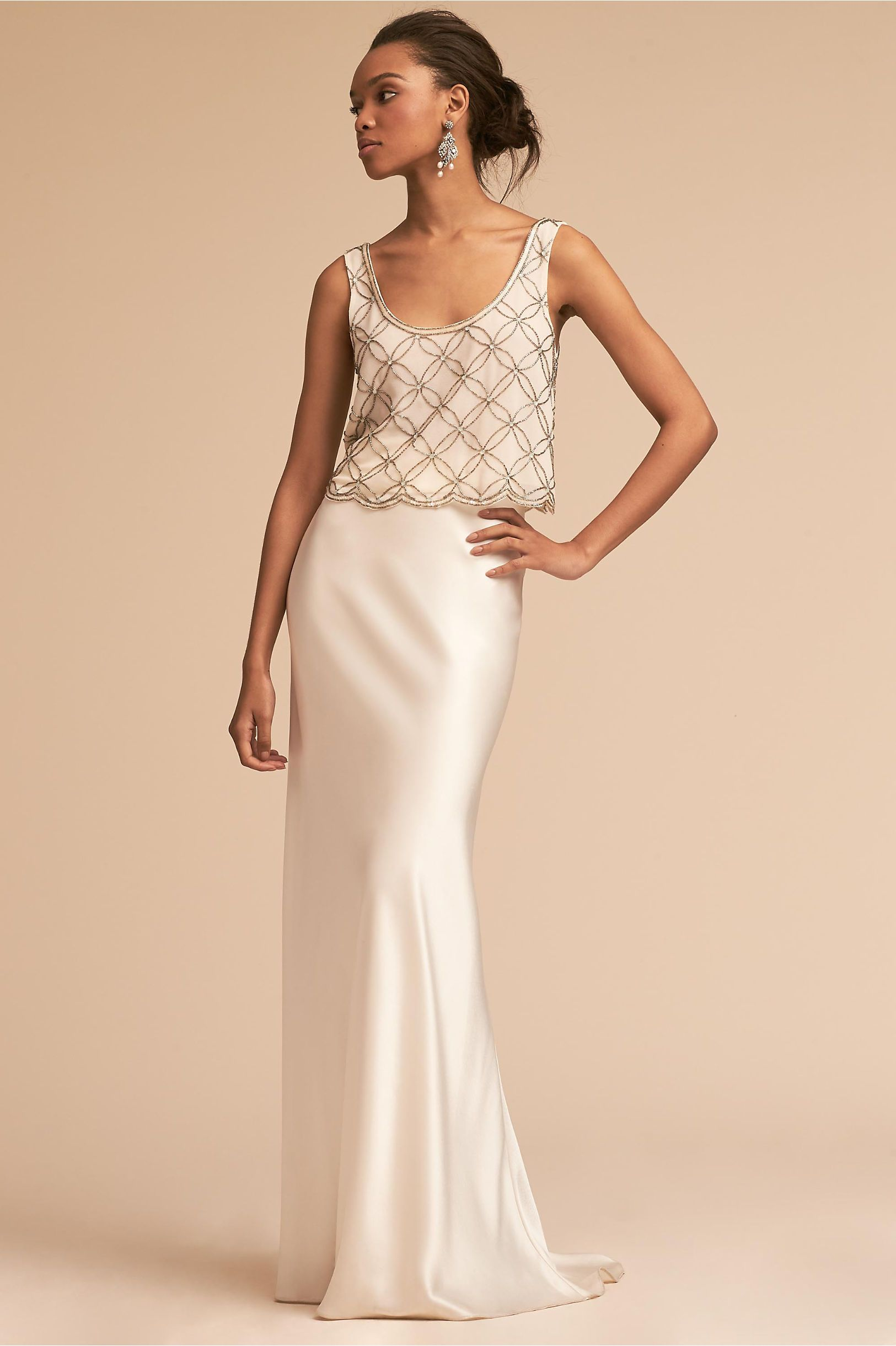 5850a451dc94 Milo Top Blush in Bridal Party | BHLDN | The one where they all get ...