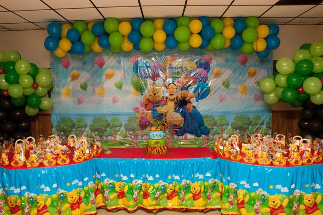 Winnie The Pooh Party Ideas Wallpaper Birthday Featured X 427 173 Kb Jpeg