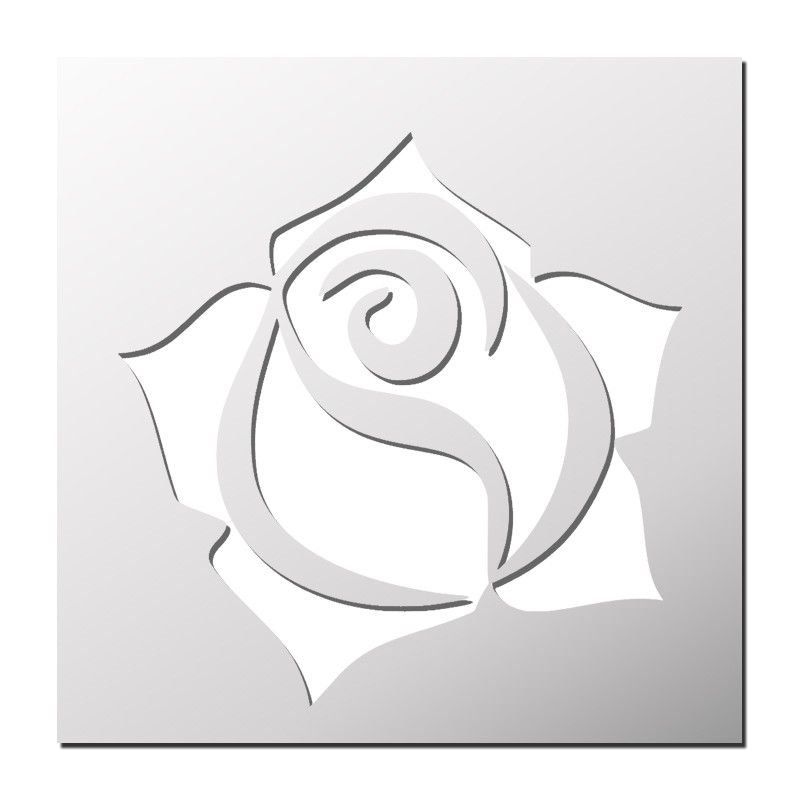 Pochoir rose pochoirs pinterest pochoir pochoir fleur et pochoir a imprimer - Silhouette papillon imprimer ...