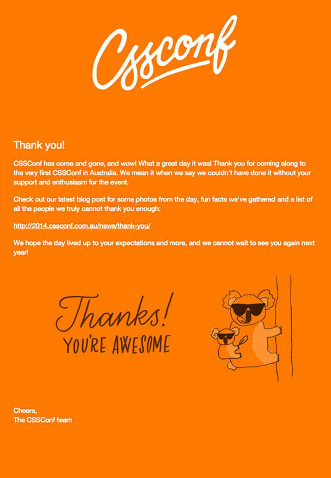 Email Marketing Campaign - Thank You Email | email ...