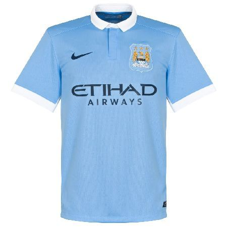 93517efb8 Manchester City+Soccer Jersey+Football League+Champion League+Toure+Augero+Silva+have  a nice day+nice day sports+. Nike Man City Home Shirt 2015 2016 ...