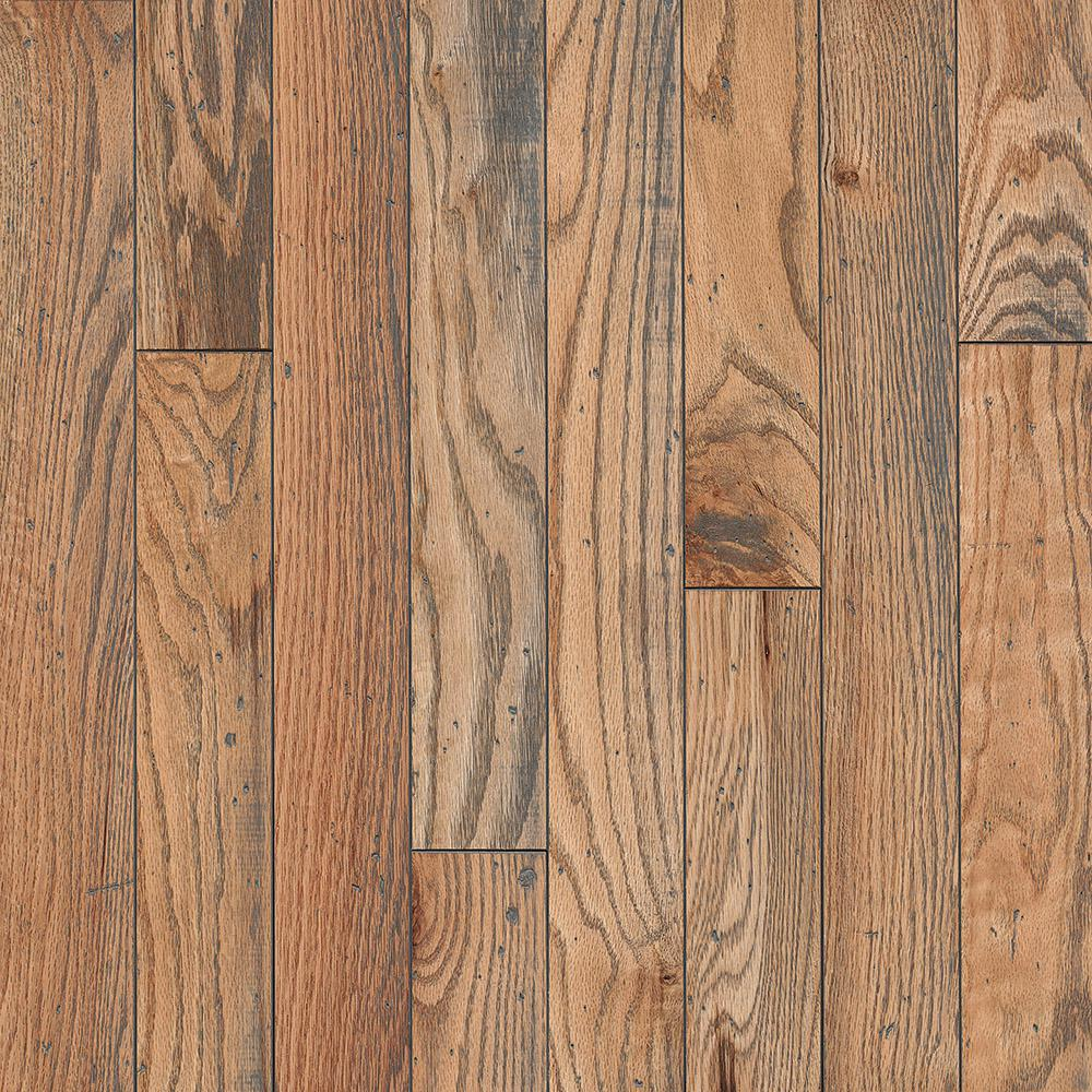Bruce Revolutionary Rustics Oak Classic Natural 3 4 In T X 3 1 4 In W X Varying L Solid Hardwood Flooring 22 Sq Ft Case Sakhd39l4tnd The Home Depot Solid Hardwood Floors Hardwood Floors Armstrong Hardwood