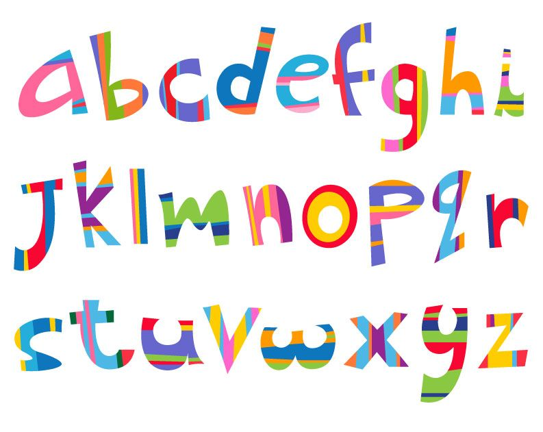 Free Printable Letter Designs