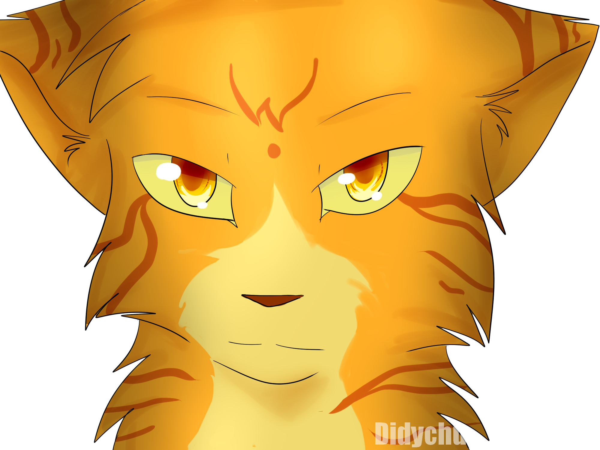 Pare Feu Chemin Cheminée Transparent Dessin De Pelage De Lion Warrior Cats Project Kawaii