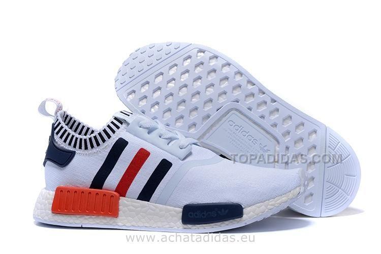 adidas nmd bleu et rouge