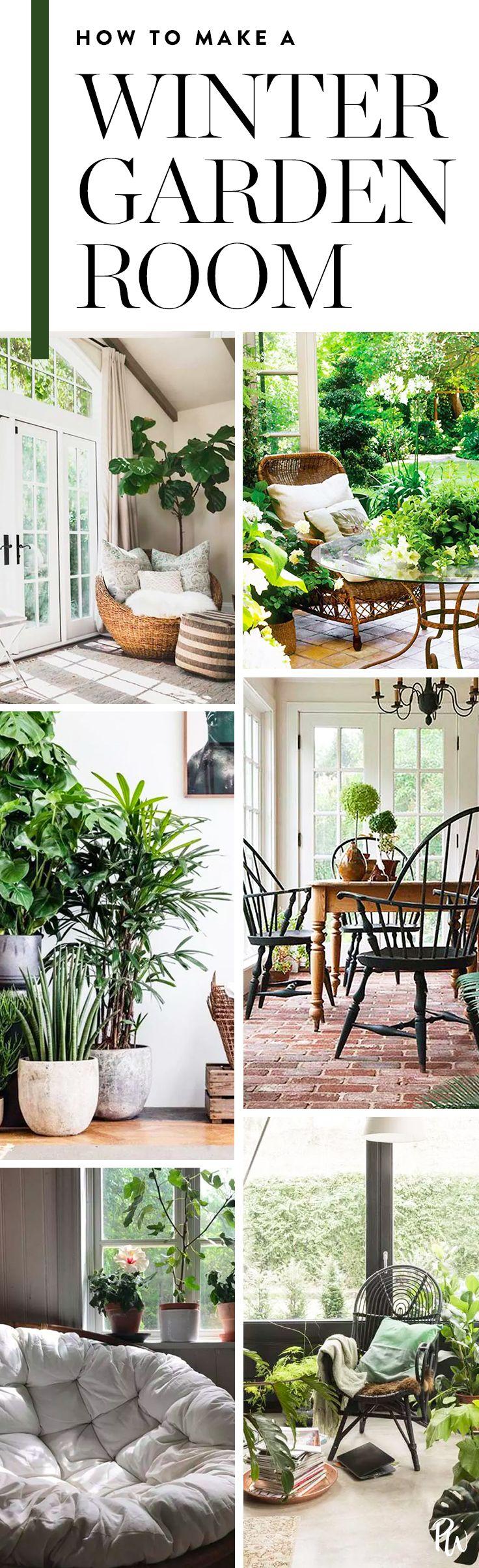 U0027Winter Garden Roomsu0027 Are The New U0027She Shedsu0027 (and Theyu0027re Easy To Make  Yourself) | Winter Garden, Sunroom And Conservatories