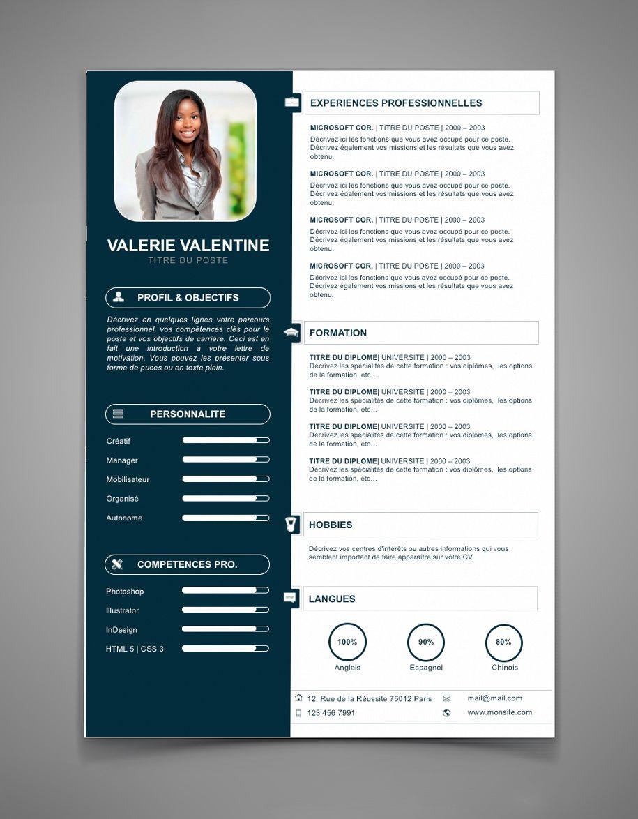 Modele Cv Original Cv 65 Desain