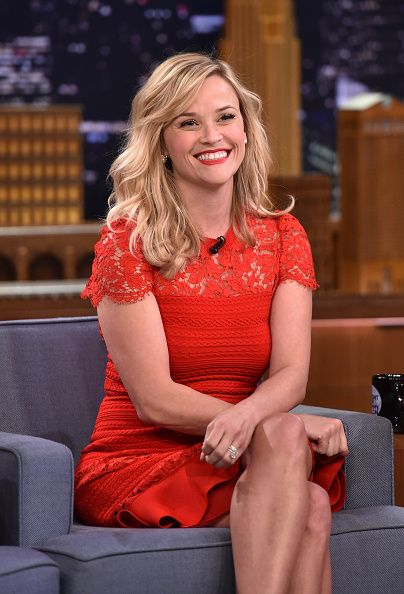 Reese Witherspoon visits 'The Tonight Show Starring Jimmy Fallon' at Rockefeller Center on December 2, 2014 in New York City