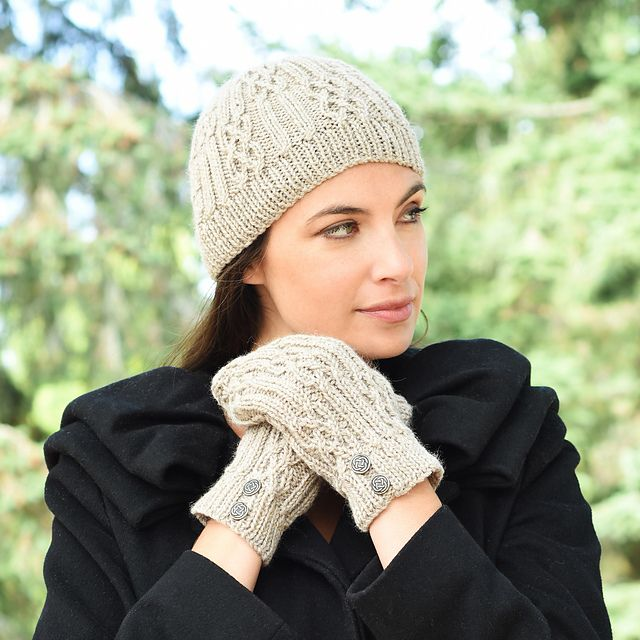 Knitting patterns galore celtic cable rib beanie mittens knitting patterns galore celtic cable rib beanie mittens dt1010fo