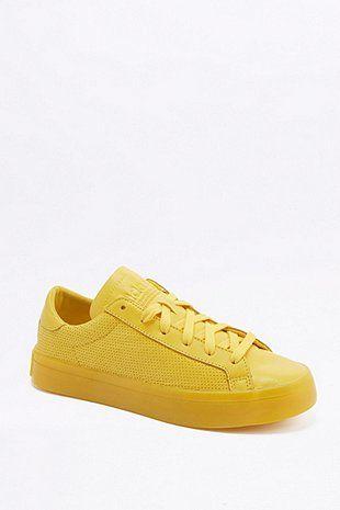 adidas Originals Baskets Court Vantage Adicolor jaunes
