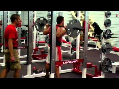 Mississinewa High School Weight Room Demo(1/2) - IBOtube | Strength