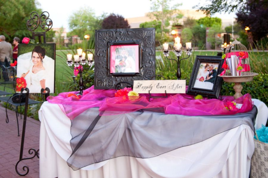 Reception Gift Table Ideas Picswe