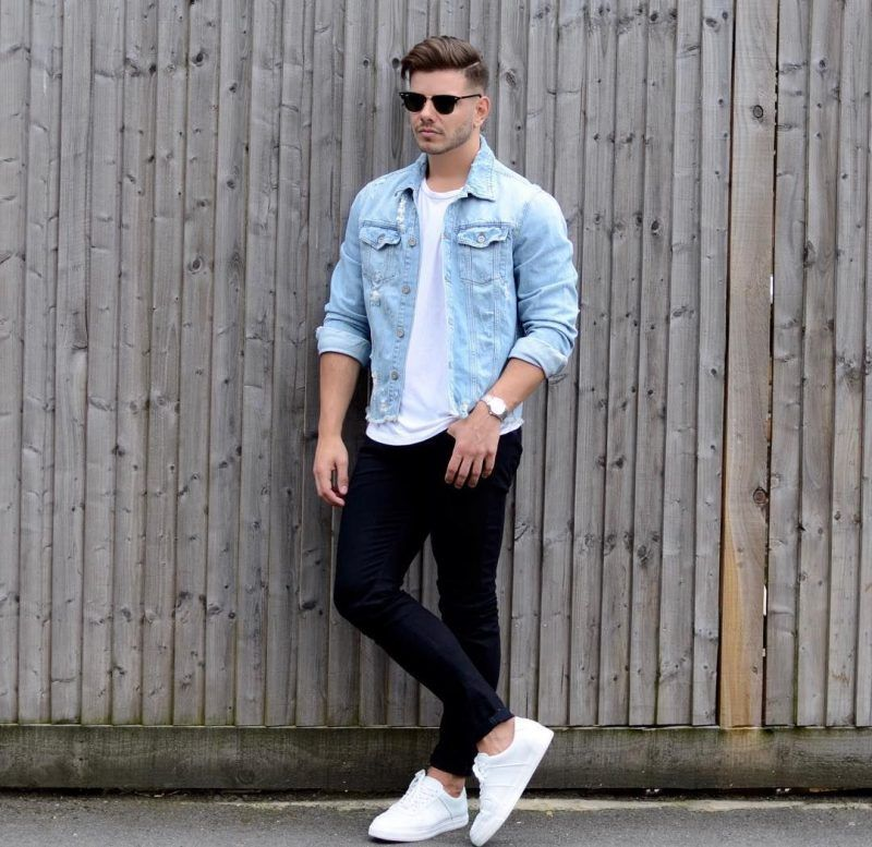 feaf6bc858 Blue denim jacket