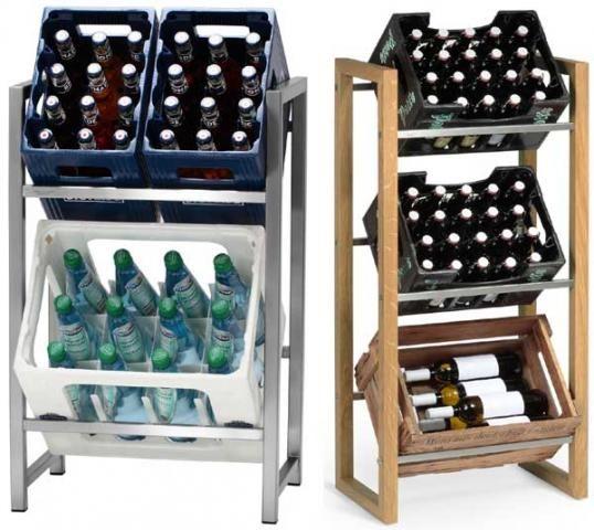 Getränkekisten Schrank getränkekisten regal selber bauen home
