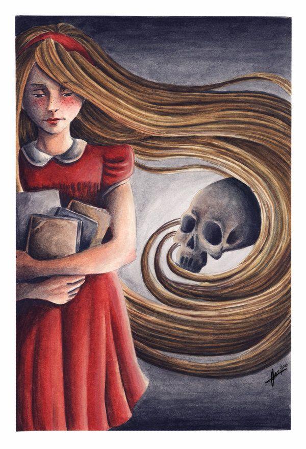 The book thief by Irina-Hirondelle.deviantart.com on @deviantART