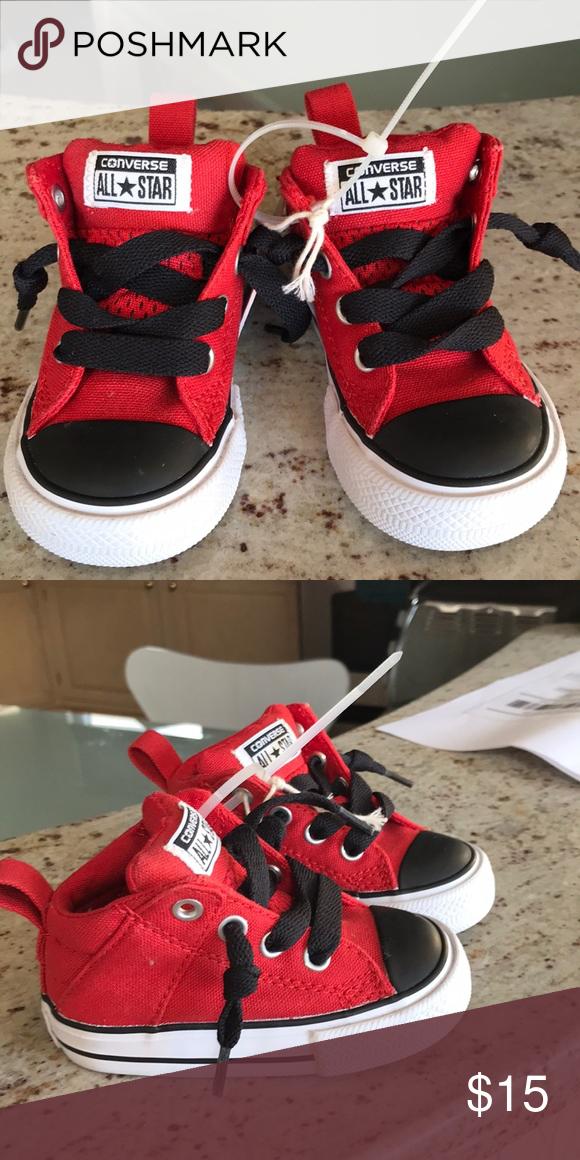 cfafafaa694e96 💥NEW💥 Toddler Converse size4 Brand new with tags toddler converse size 4  Converse Shoes Sneakers