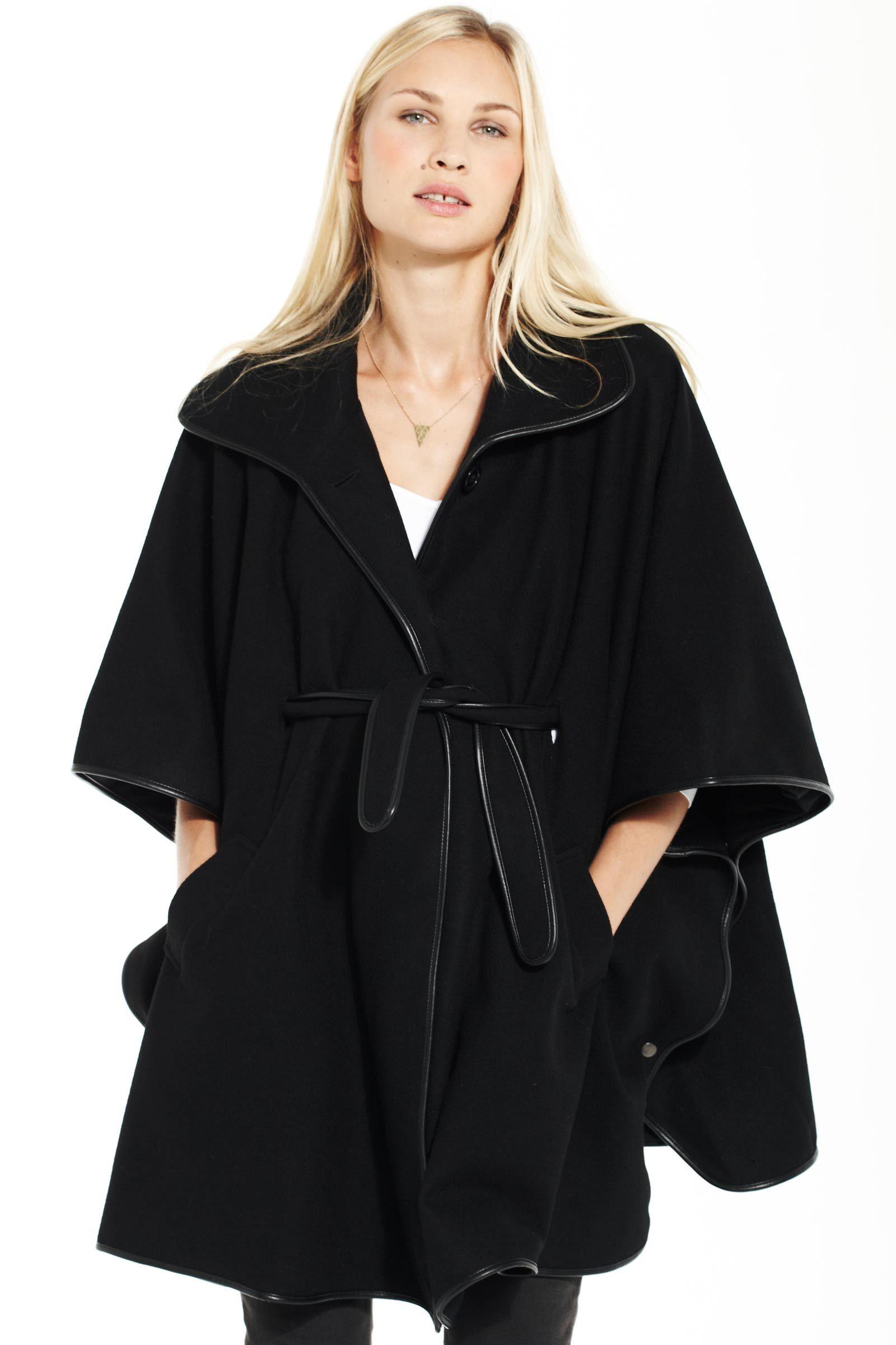 Laine · Noir · Manteau Cape Femme, Solde Hiver, Vêtements Tendance, Femme  Enceinte, Des Vêtements, 3add27b8ebc