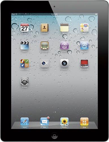 Apple MC916LL/A iPad 2 Tablet 64GB w/WiFiBlack from