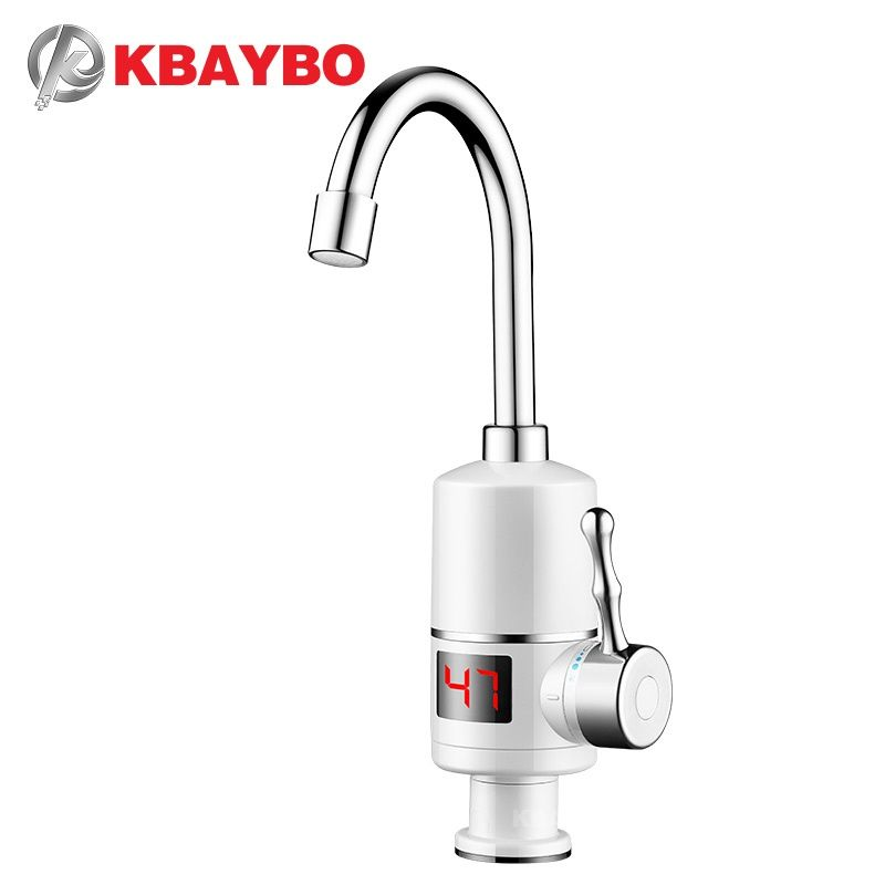Kbaybo Electric Water Heater 3000w Instant Water Heater Tankless Hot Heating Water Tap Bathroom Kitchen Water Kitchen Water Faucet Instant Water Heater Water Tap