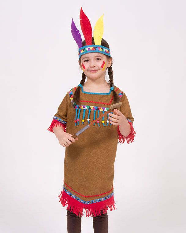 Howgh Ich Habe Genaht Sewing Costumes Nahen Indianerin