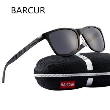 f71b5e7d322 BARCUR Men Aluminum Sunglasses HD Polarized UV400 Mirror TAC Lens Classic Brand  Male Sun Glasses Women