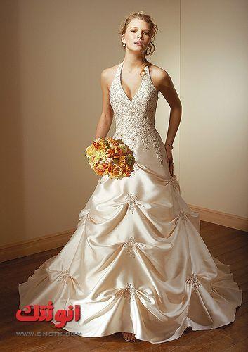 6ce79bb66f77a فساتين زفاف جميله صور فساتين زفاف جديده لاحلى عروسة