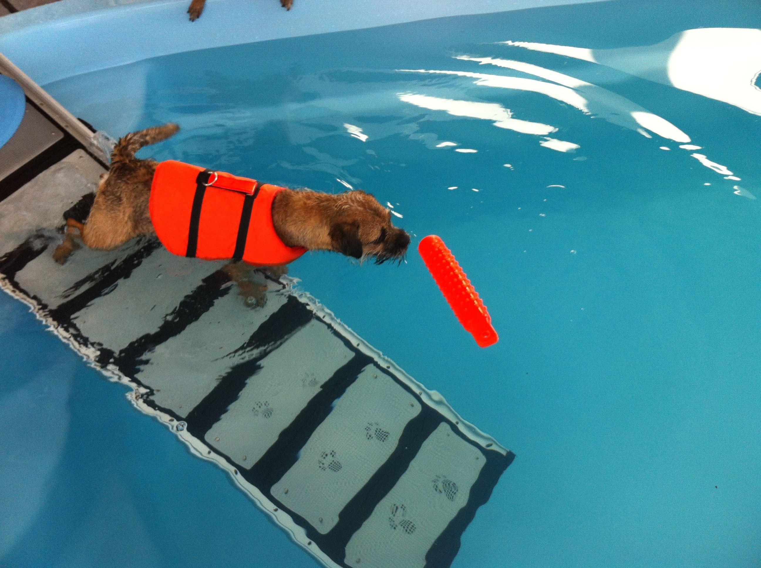 Iitu uimahallissa.