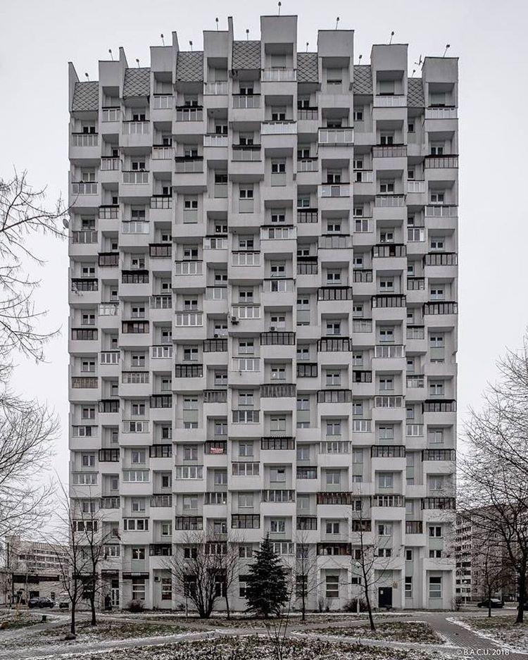 20 Storey Residential Towers Aka Honeycomb Minsk Belarus
