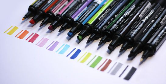COPIC Markers, Pens, and Sets
