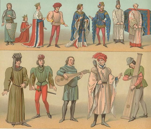 Royal Clothing Middle Ages
