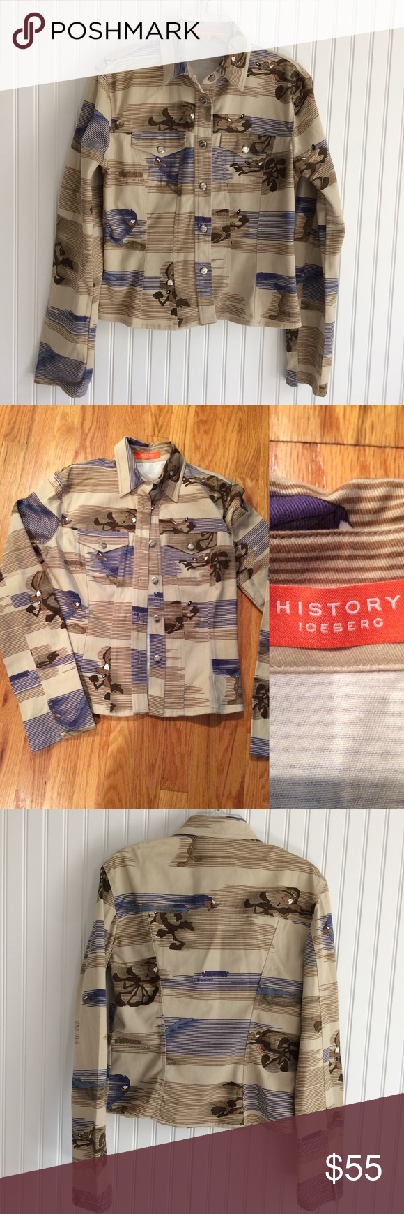 Vintage History Iceberg Wile E Coyote Jacket Clothes Design Fashion Fashion Design [ 1740 x 580 Pixel ]