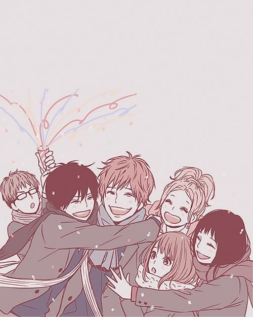 The Best Squad Anime Orange Anime Friendship Friend Anime