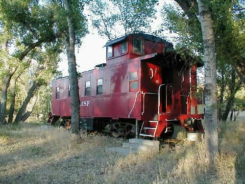 all types of train cars for sale and people are making homes