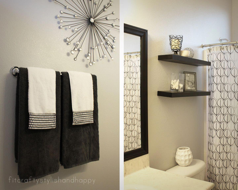 Guest Bathroom Makeover White Bathroom Decor Restroom Decor