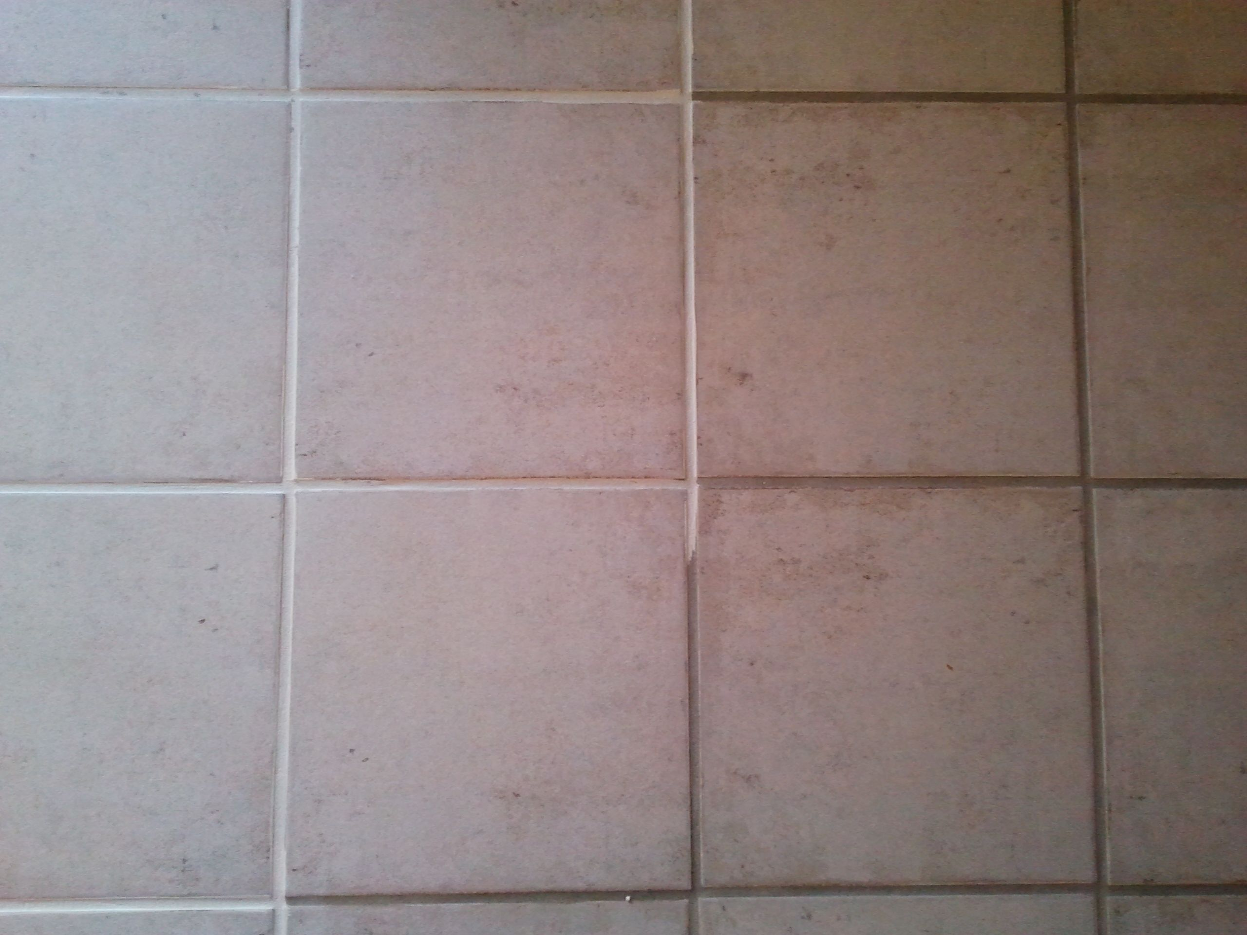 I Had Dirty Looking Grout After 14 Years Now It Looks New Kitchen