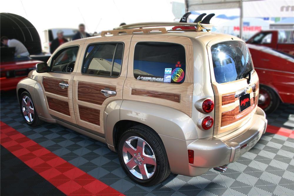 2006 Chevrolet Hhr Custom Woody Rear 3 4 72805 Chevy Hhr