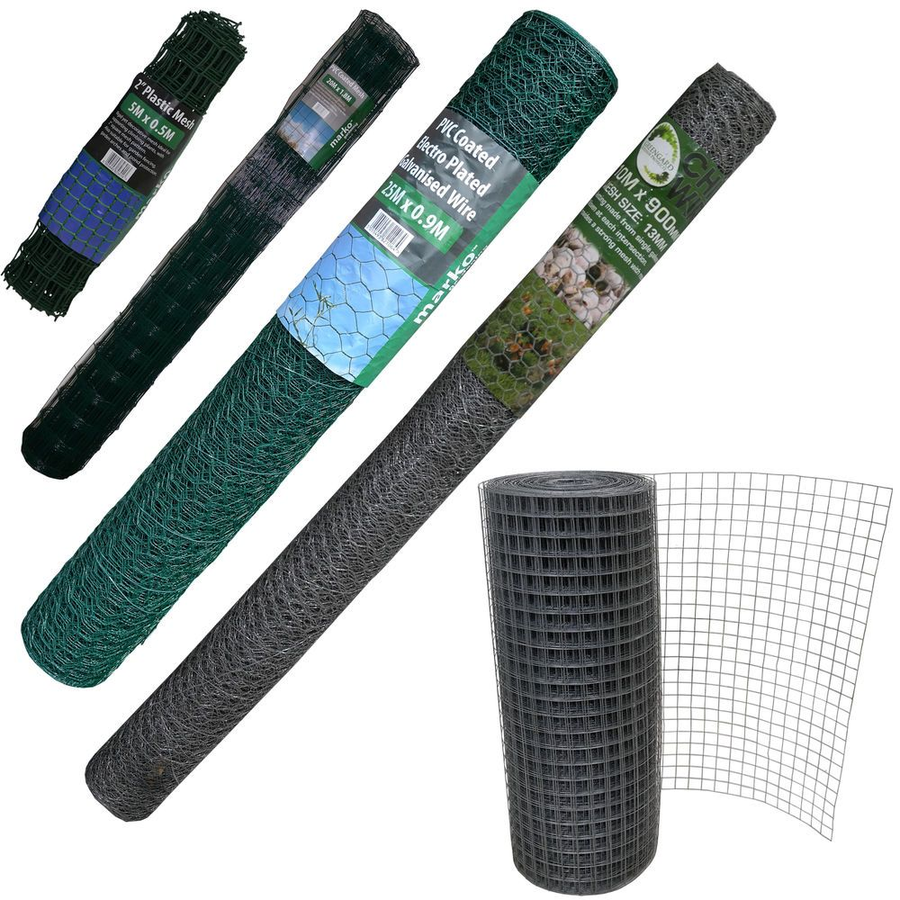 Welded Galvanised Pvc Plastic Coated Fencing En Wire Mesh Aviary Garden