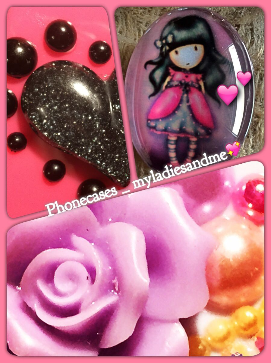 Myladiesandme, carcasas para iphone, decoradas en 3D estilo Kawaii  3D deco iphone case!