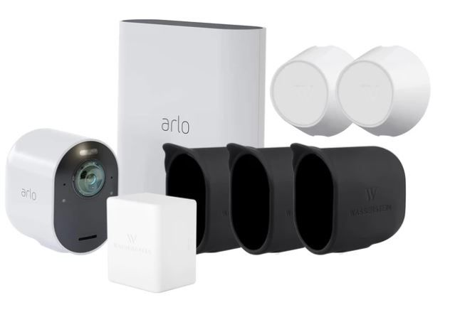 Arlo Ultra 1pack Cam Kit with Rechargeable Battery, 2