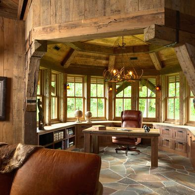 Home Office Photos Western Home Office Design Pictures Remodel Decor And Ideas Rustic House Rustic Home Offices European Style Homes