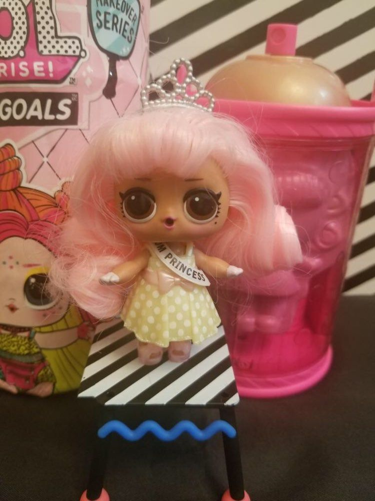 Doll Pictured Is My Own Used To Show What Unboxed Doll Will Look Like Listing Is For One Brand New Unopened Unwrapped Hai With Images Lol Dolls Crafts For Kids Playset