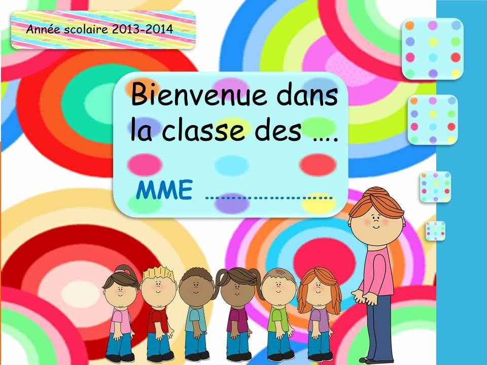 Belle AFFICHAGE DE PORTE 2013 | Rentree | Porte de classe, Classe UL-54