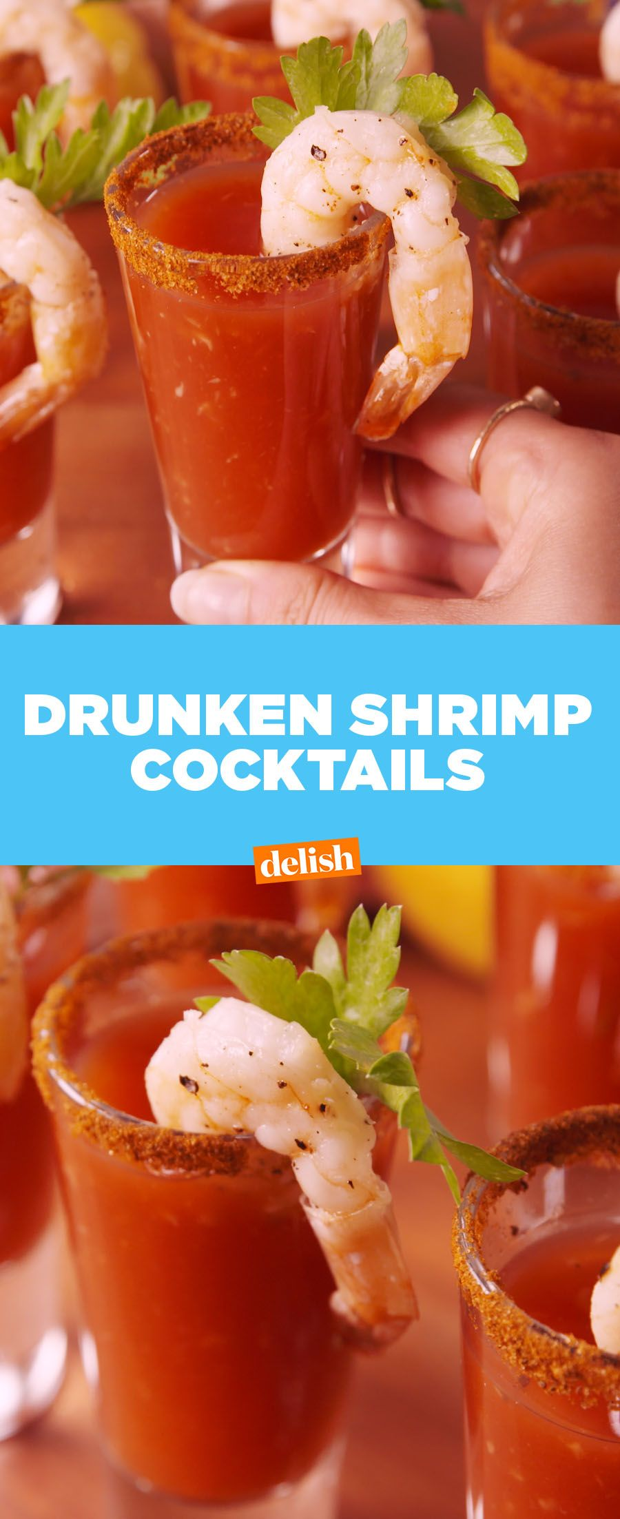 Drunken Shrimp Cocktail