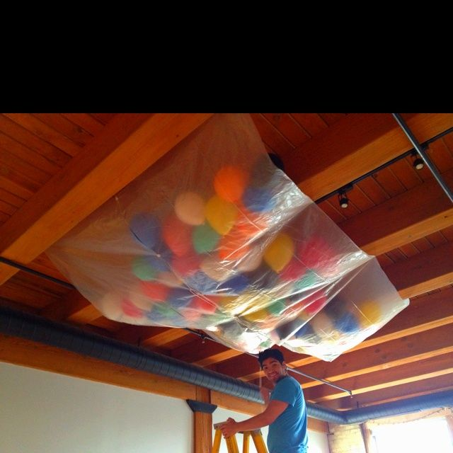New Years Balloon Drop Glow in the Dark Parties and Fun Ideas